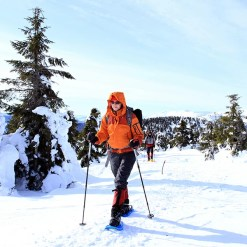 Snowshoeing - Mont Tremblant