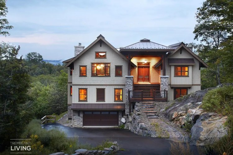 Foret Blanche Chalet Tremblant 16