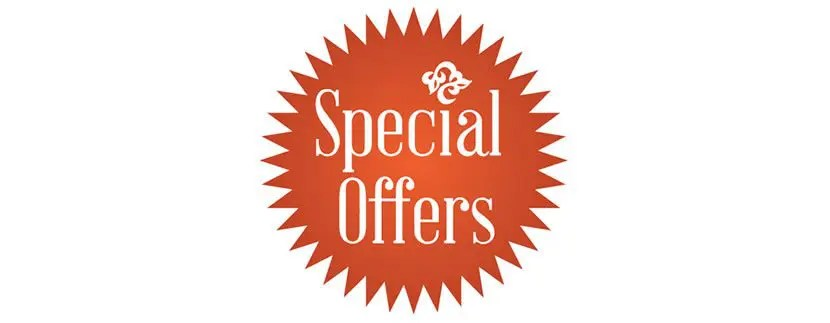 10% Off Special Promotions