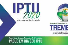 Carnê de IPTU 2020 será entregue na casa do contribuinte