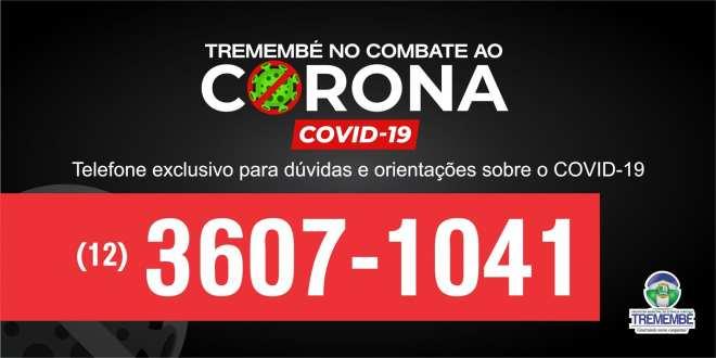 Prefeitura de Tremembé disponibiliza telefone exclusivo para tirar dúvidas sobre Coronavírus