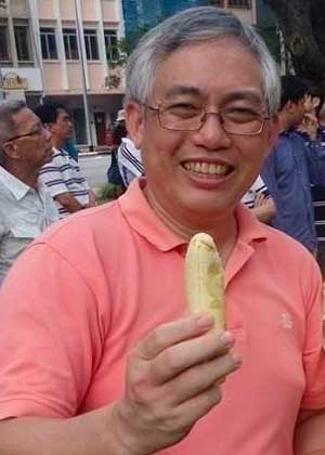 Image result for Goh Meng Seng + banana