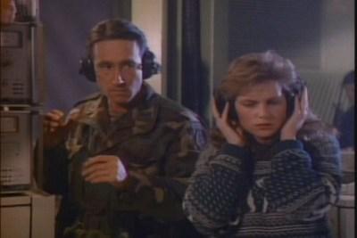 Richard Chaves and Lynda Mason Greene in War of the Worlds