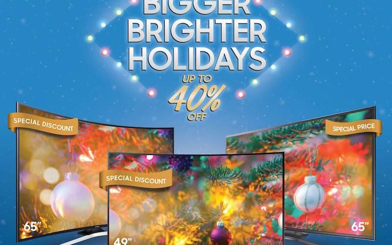 Samsung Bigger Brighter Holidays