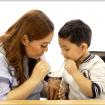 Mom Blogger & Barangay Captain Nhessie San Agustin w_ Choi
