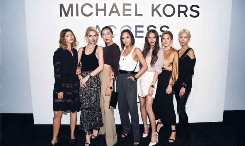 Influencers at the Michael Kors Access Event on September 13, 2017 in New York City_2