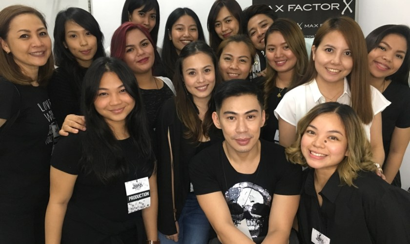 Optimized-Max Factor team with Bobby Carlos