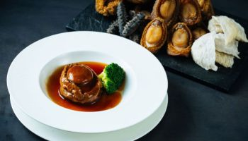 Optimized-Braised Whole South African Abalone with Oyster Sauce