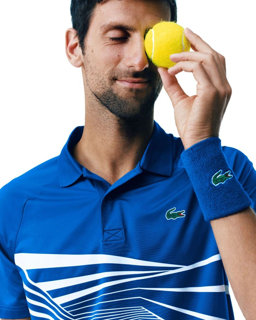 Lacoste Unveils The Outfits To Be Worn By Novak Djokovic The Brand S Ambassador Trend Hotspot