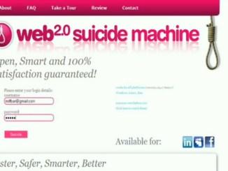 WEB 2.0 Suicide Machine Promotion