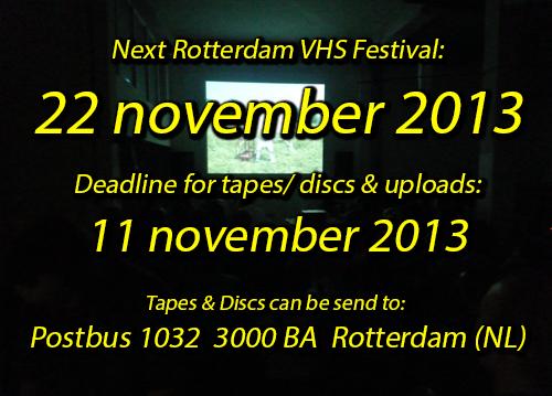 Rotterdam VHS Festival