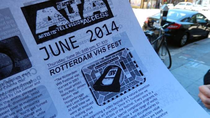 Rotterdam VHS Festival @ Artist Television Acces