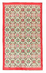 tapis kilim rose
