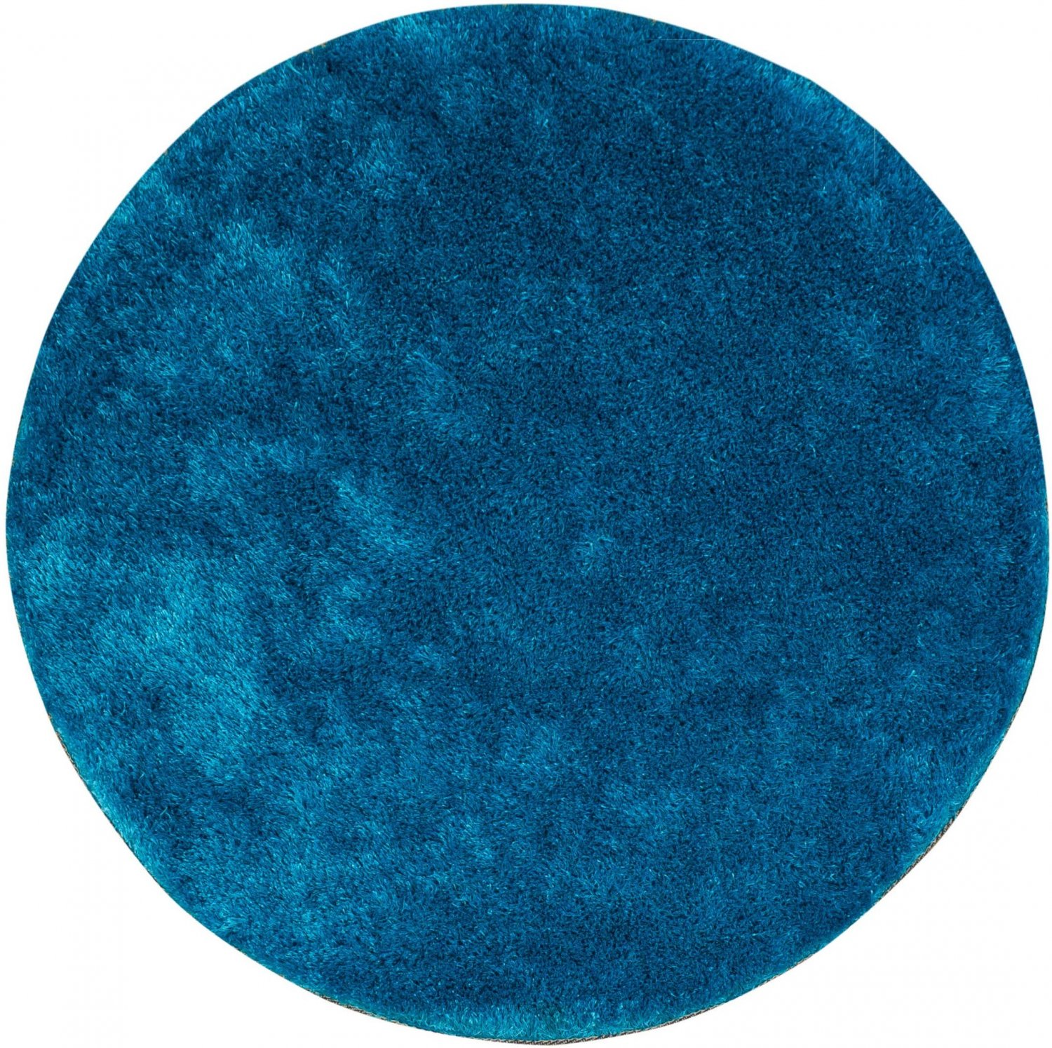 tapis rond 200 cm cosy turquoise