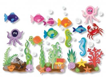 Kreativpaket Farbenfrohe Unterwasserwelt Trend Creativ