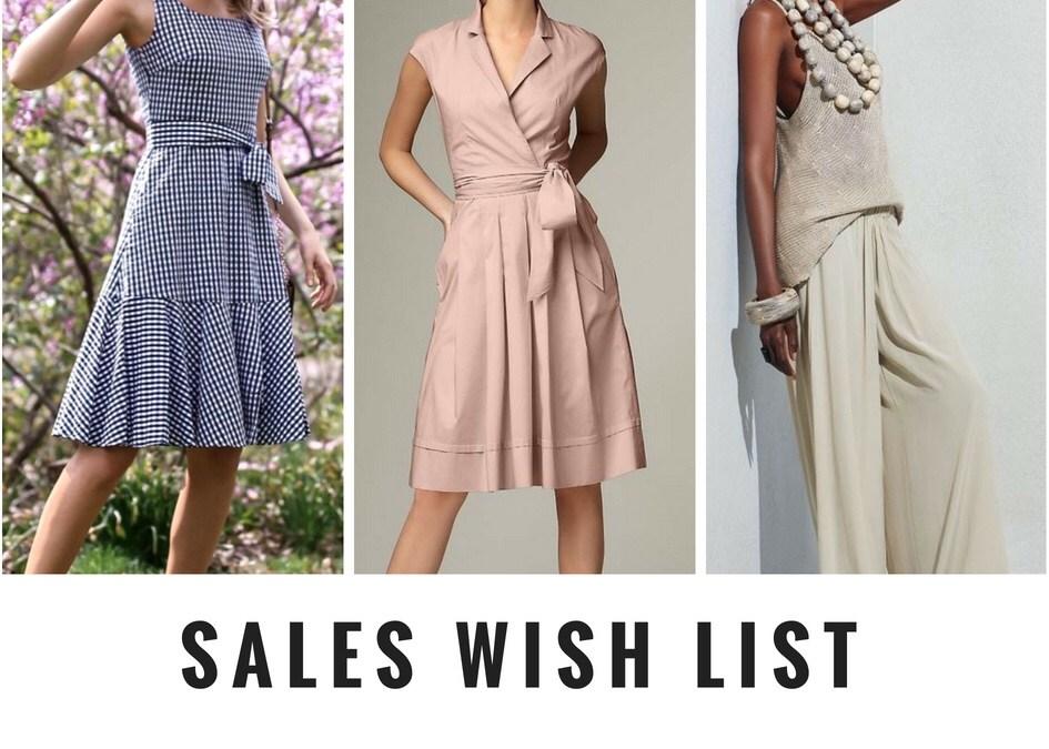 Sales Wish list