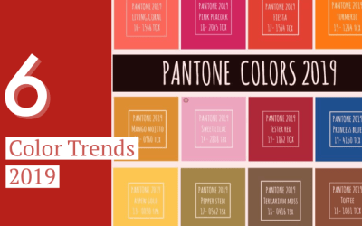 Colors trends 2019