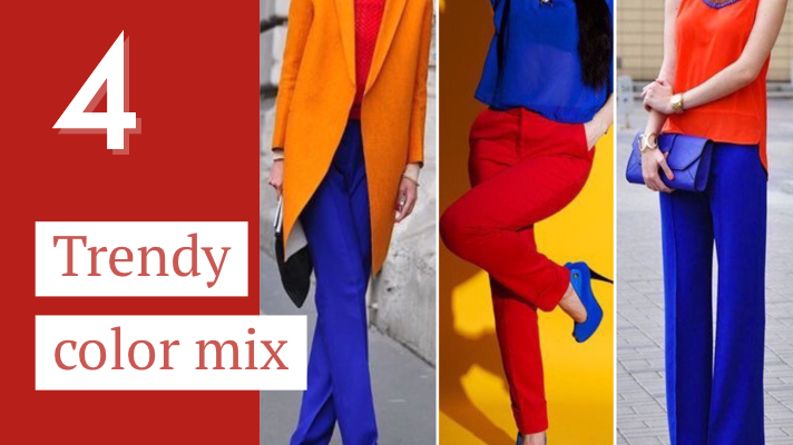 Trendy color mix