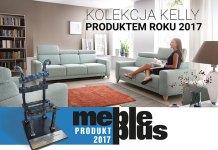 KELLY - kolekcja mebli wypoczynkowych WAJNERT MEBLE Produktem Roku 2017