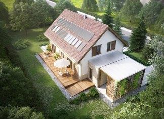 Projekt domu Przestronny WOX1046