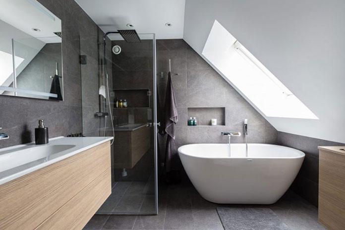 Aranżacja łazienki Na Poddaszu Pomysły I Inspiracje