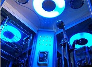 Kabina prysznicowa z funkcją hydromasażu