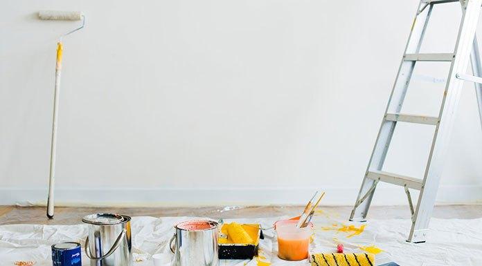 Pistolet natryskowy do farb i tynków - jak wybrać pistolet do malowania?