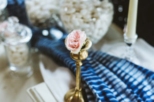 Champagne Sequin Head Table Slider