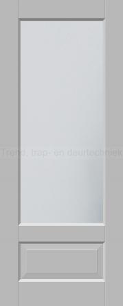 <h5>Trend 2561</h5><p>Paneeldeur uit te voeren met A1, A2, B1, B2, C1 en E1 profilering.  Keuze uit beglazingssoorten, Blank glas, Satijn glas, Blank facet geslepen glas en Satijn facet geslepen glas.</p>