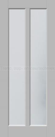 <h5>Trend 2572</h5><p>Paneeldeur uit te voeren met A1, A2, B1, B2 en C1 profilering.  Keuze uit beglazingssoorten, Blank glas, Satijn glas, Blank facet geslepen glas en Satijn facet geslepen glas.</p>