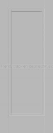 <h5>Trend DPB</h5><p>Paneeldeur uit te voeren met unieke profilering.  Deze deur met glas uitvoeren is bespreekbaar.</p>