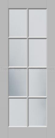 <h5>Trend R512</h5><p>Paneeldeur uit te voeren met A1, A2, B1, B2 en E1 profilering.  Keuze uit beglazingssoorten, Blank glas, Satijn glas, Blank facet geslepen glas en Satijn facet geslepen glas.</p>