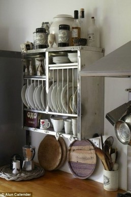 Functional Dish Storage Inspirations For Your Kitchen 24