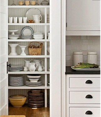 Functional Dish Storage Inspirations For Your Kitchen 38