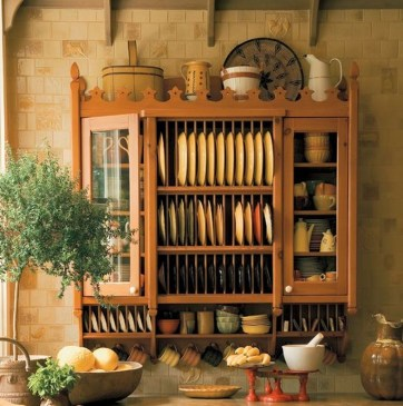 Functional Dish Storage Inspirations For Your Kitchen 44