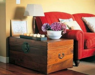 Ideas To Decorate Your House With Vintage Chests And Trunks 11