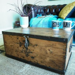 Ideas To Decorate Your House With Vintage Chests And Trunks 15