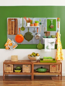 Smart Ways To Organize Your Home With Pegboards 07