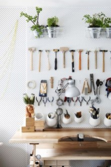 Smart Ways To Organize Your Home With Pegboards 10
