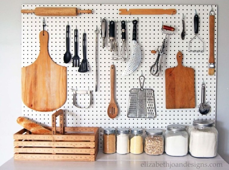 Smart Ways To Organize Your Home With Pegboards 43