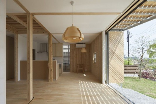Charming And Minimalist Wooden House 29