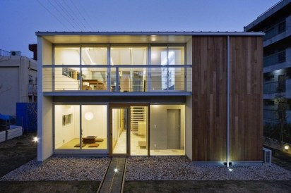 Functional Japanese House For Small Family 43
