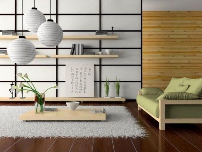 Japanese Inspired Living Rooms With Minimalist Charm 07