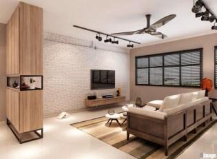 Minimalist Industrial Apartment 22