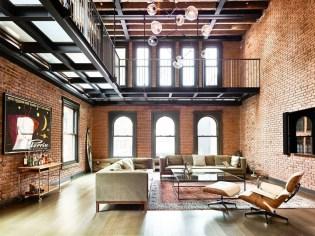 Minimalist Industrial Apartment 24