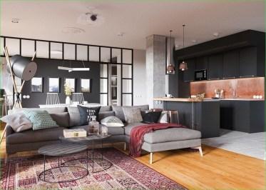 Minimalist Industrial Apartment 26