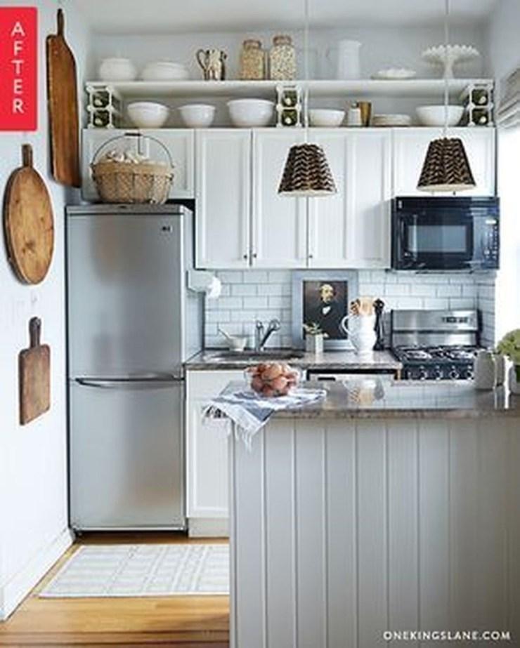 Wonderful Small Kitchen Transformations 23