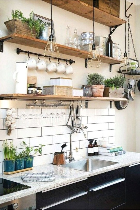 Wonderful Small Kitchen Transformations 32