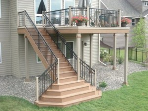 Wood Railing Ideas For Your House Style 02