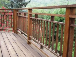Wood Railing Ideas For Your House Style 03